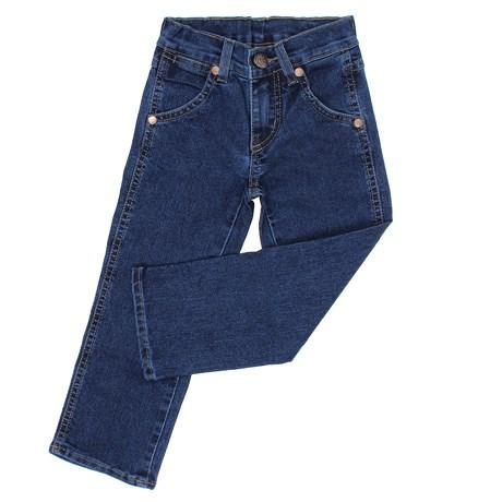 Calça Jeans Infantil Masculina Azul com Elastano Tassa 27743