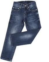 Calça Jeans Infantil Masculina Azul Escuro - Tassa Boys 19369
