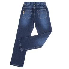 Calça Jeans Infantil Masculina Azul Relaxed Tassa 30009