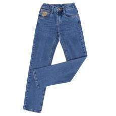 Calça Jeans Infantil Masculina Relaxed Fit Azul Tassa 28151