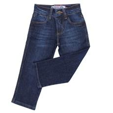 Calça Jeans Infantil Tradicional Masculina Rodeo Western Azul 24639