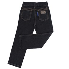 Calça Jeans Infantil Tradicional Preta Masculina Rodeo Western 22604
