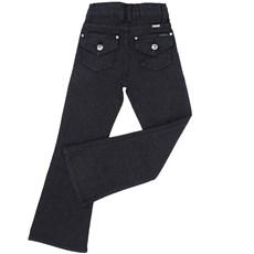 26488d1825 ... Calça Jeans Infanto Juvenil Feminina Preta com Brilho - Tassa 18467