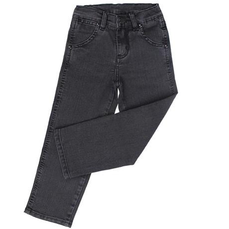 Calça Jeans Infantojuvenil Preta Cowboy Cut Destroyer - Tassa 16128