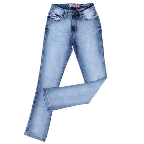 Calça Jeans Manchada Feminina Rodeo Western 23352