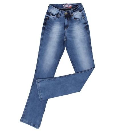 Calça Jeans Manchada Feminina Rodeo Western 24891