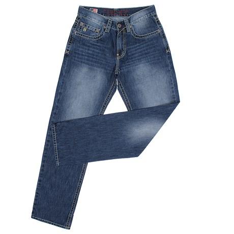 Calça Jeans Masculina 100% Algodão Boot Cut Soft TXC 28787