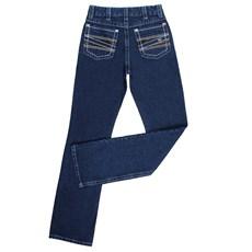 Calça Jeans Masculina Azul 100% Algodão Dock's 24274