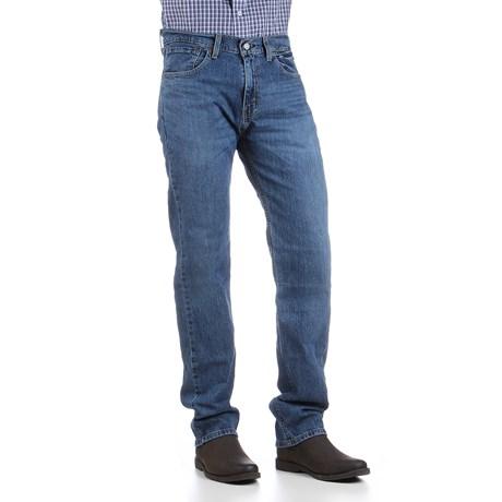 Calça Jeans Masculina Azul 505 Regular com Elastano Levi's 30056
