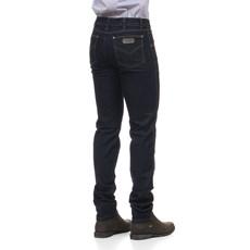 Calça Jeans Masculina Azul Escuro Básica com Elastano - Dock's 18706