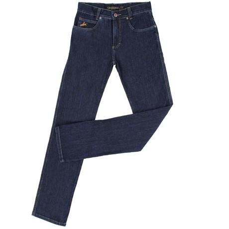 Calça Jeans Masculina Azul Escuro com Elástano - Country   Cia 18732 ... 466f6d38938