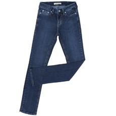 Calça Jeans Masculina Azul Escuro Slim com Elastano - Tassa 18472