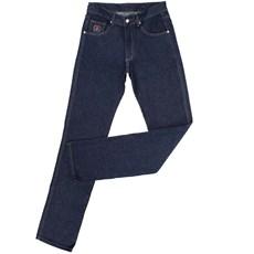 Calça Jeans Masculina Azul Escuro Tradicional 100% Algodão - Dock's 18708