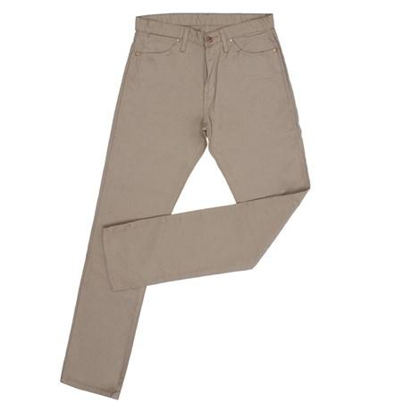 Calça Jeans Masculina Bege Cowboy Cut Original Wrangler 28111
