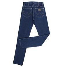 Calça Jeans Masculina com Elastano Original Wrangler Azul 24827