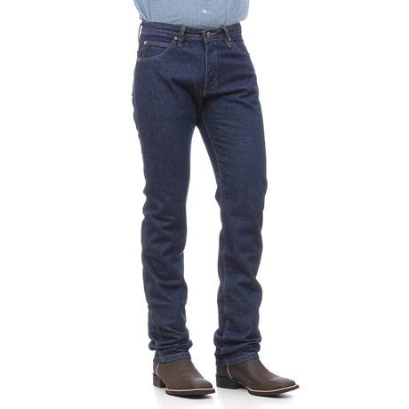 Calça Jeans Masculina Cowboy Cut Azul Original Wrangler 25218