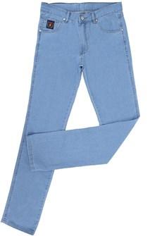 Calça Jeans Masculina Delavê Tradicional com Elastano - Dock's 18709