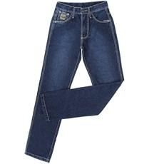 Calça Jeans Masculina Escura Bronze King Original Fit 100% Algodão - King Farm 19114