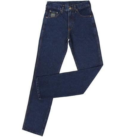 Calça Jeans Masculina Escura Green King Original Fit 100% Algodão - King Farm 19113