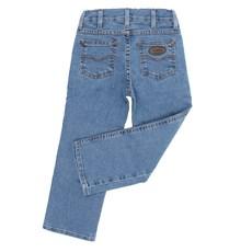 Calça Jeans Masculina Infantil Cowboy Cut Azul Clara com Elastano Tassa 27587