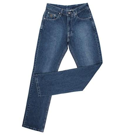 Calça Jeans Masculina Reta Azul Dock's 24033