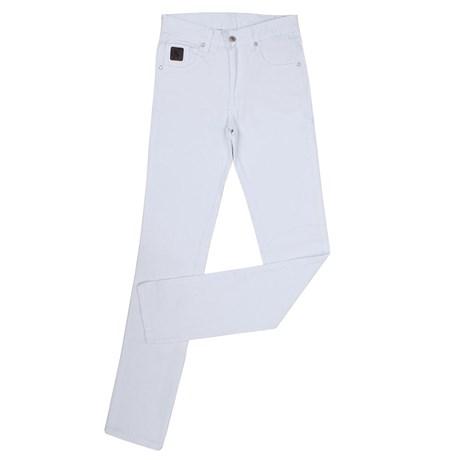 Calça Jeans Masculina Sarja Branca Dock's 23915