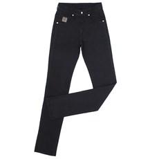 Calça Jeans Masculina Sarja Preta Dock's 23917