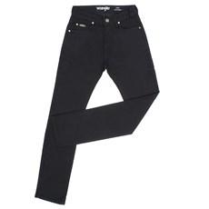 Calça Jeans Masculina Sarja Preta Regular Original Wrangler 28208