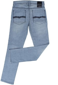 Calça Jeans Masculina Standart Azul Claro - Tassa 19186