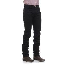 Calça Jeans Preta Masculina Cowboy Cut Original Wrangler 23746