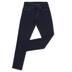 Calça Jeans Slim Masculina Azul Escuro Levi's com Elastano 27694