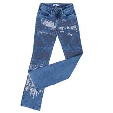 Calça Jeans Tassa Feminina Azul com Elastano 25443