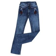 Calça Jeans Tassa Gold Feminina Boot Cut com Elastano 24851