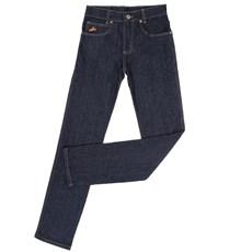 Calça Jeans Tradicional Masculina Azul Escuro com Elastano - Country & Cia 18736