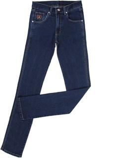 Calça Jeans Tradicional Masculina Azul Escuro com Elastano - Dock's 18701