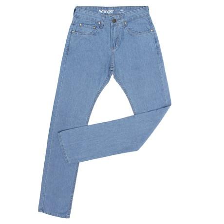 Calça Jeans Wrangler Original Masculina Azul Clara Regular 26638