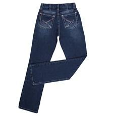 Calça Masculina Dock's Jeans Azul Escuro 100% Algodão 24560