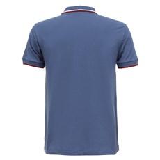 Camisa Azul Gola Polo Masculina Original Wrangler 28203