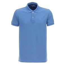 Camisa Azul Masculina Gola Polo TXC 28806
