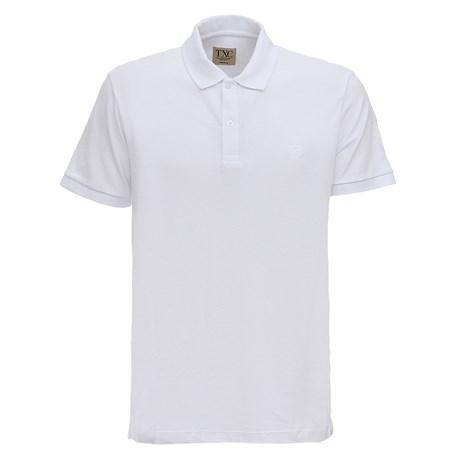 Camisa Branca Masculina Gola Polo TXC 28807