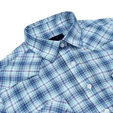 Camisa Feminina Manga Longa Xadrez Azul Original Wrangler 25170