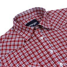 Camisa Feminina Xadrez Vermelha Manga Longa Original Wrangler 25169