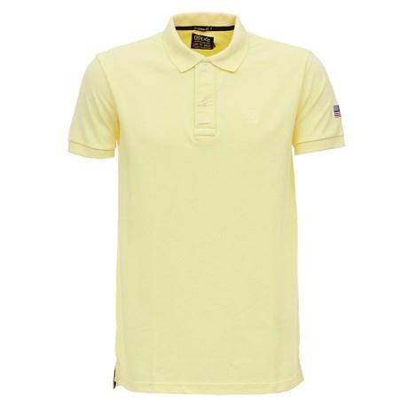 Camisa Gola Polo Amarela Masculina TXC 27945