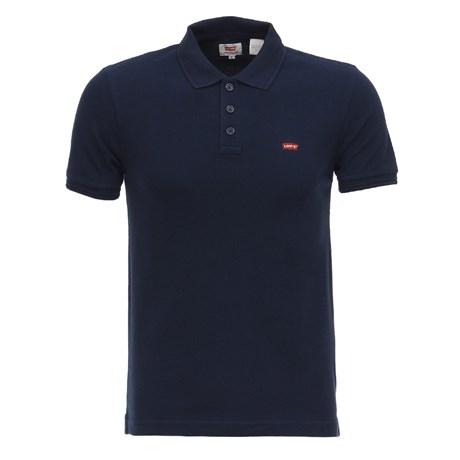 Camisa Gola Polo Azul Marinho Masculina Levi's 27055