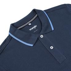 880e2715c8 ... Camisa Gola Polo Azul Masculina Original Wrangler 23740