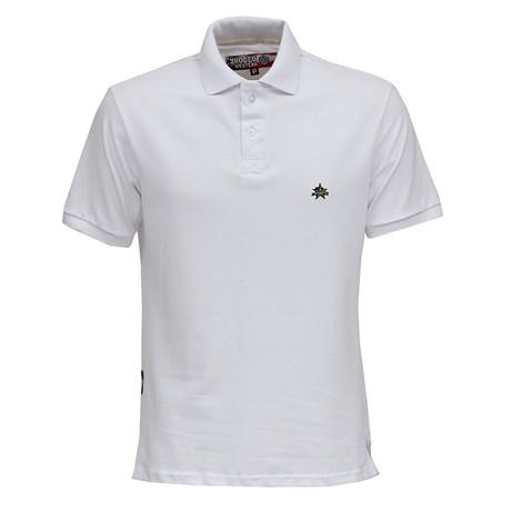 Camisa Gola Polo Branca Masculina Rodeo Western 26359