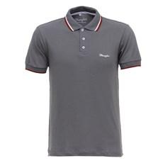 Camisa Gola Polo Cinza Masculina Original Wrangler 28204