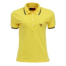 Camisa Gola Polo Feminina Amarela Smith Brothers 27538