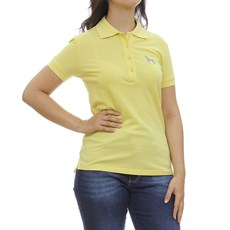 Camisa Gola Polo Feminina Amarela Tassa 29930