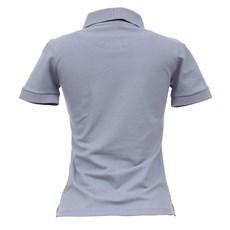 Camisa Gola Polo Feminina Cinza Smith Brothers 27540